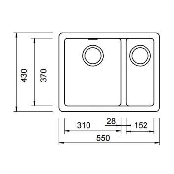 ABEY10250 N150B Abey Undermount Sinks Spec sheet