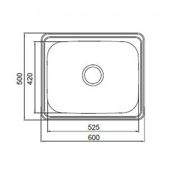 ABEY14050 PR45C Abey  Tubs & Cabinets Spec sheet