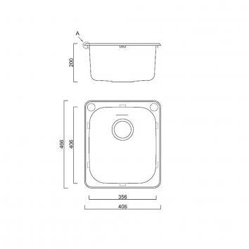 ABEY14900 AL100 Abey  Tubs & Cabinets Spec sheet