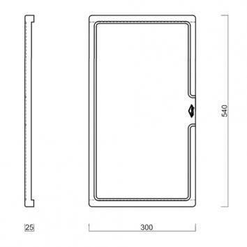 ABEY16050 SLCB Abey Accessories Sinks Spec sheet