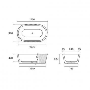 APAISER1630 KH-5383 Apaiser Freestanding Baths Spec sheet