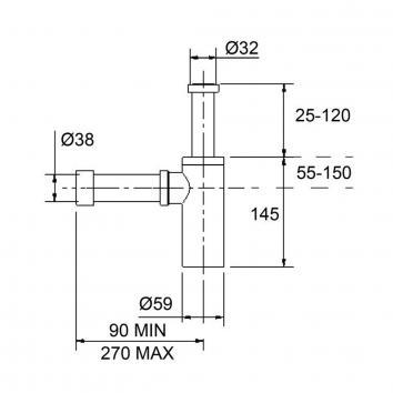 ARGENT3065 28927 Argent Trap Plugs & Wastes Spec sheet