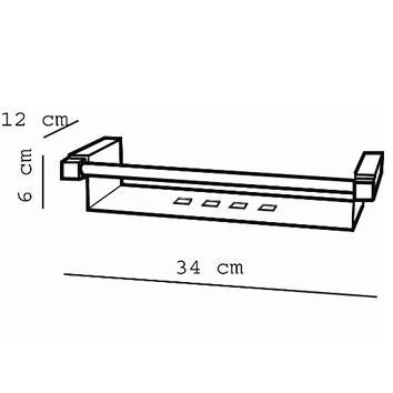 ARGENT4310 38.60.20.002 Pomd'or Soap Holder Accessories Spec sheet