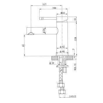 ARGENT61050 BM224201 Argent Mixers Tapware Spec sheet