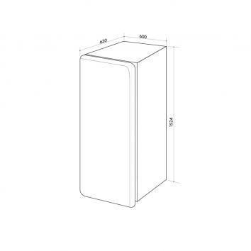 ARTUSI4560 ARET330B Artusi  Refrigeration Spec sheet