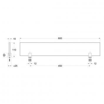 AVENIR3540 TAGS600 Avenir Shower Shelves Accessories Spec sheet
