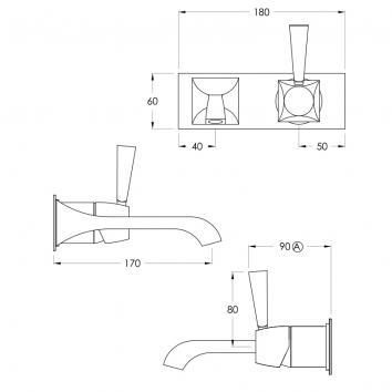 BRODWARE45015 1.8905.05.0.01 Brodware Mixers Tapware Spec sheet