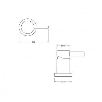 BRODWARE65700 1.9848.00.0.01 Brodware Mixers Tapware Spec sheet