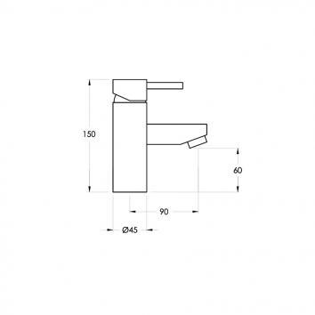 BRODWARE67115 1.9902.02.0.01 Brodware Mixers Tapware Spec sheet