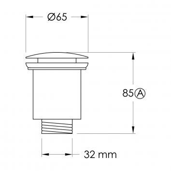 BRODWARE77010  1.7003.00.0.07 Brodware Plug & Waste Plugs & Wastes Spec sheet