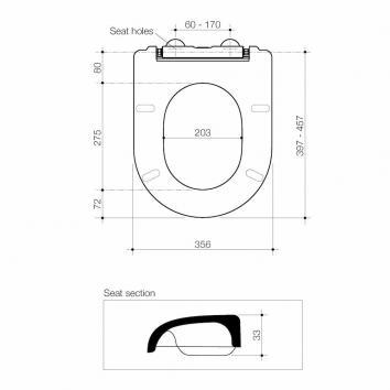 CAROMA3122 300040W Caroma  Toilets Spec sheet