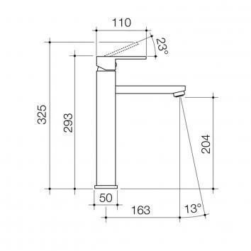 CAROMATAP5601 90738C6A Caroma Mixers Tapware Spec sheet