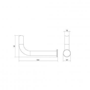 CONSERV621435 TR031SSS  Con-Serv Toilet Paper Holder Accessories Spec sheet