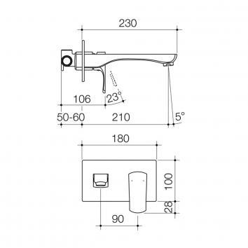 DORF3755 6513.045A Dorf Mixers Tapware Spec sheet
