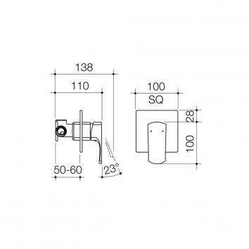 DORF3760 6511.04 Dorf Mixers Tapware Spec sheet