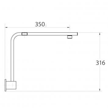 FIENZA35085 422.110 Fienza Outlets Showers Spec sheet
