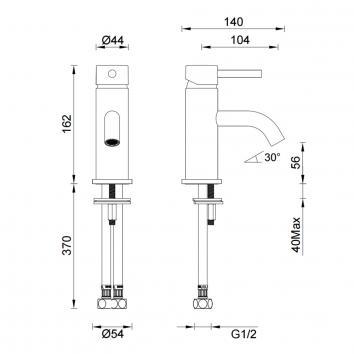 GARETH1875 3B1-C-B Abey Mixers Tapware Spec sheet