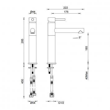 GARETH1880 3B2 Abey Mixers Tapware Spec sheet