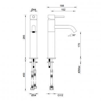 GARETH1885 3B2-C Abey Mixers Tapware Spec sheet