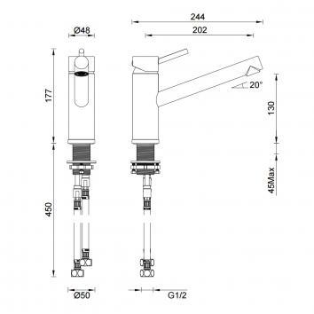 GARETH1915 3K1 Abey Mixers Tapware Spec sheet