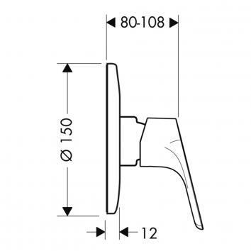 HANSGROHE11720  31967000-hans01 Hansgrohe Mixers Tapware Spec sheet