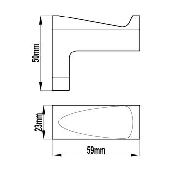 HARMACC10200 BA21021CC Harmony Robe Hook Accessories Spec sheet