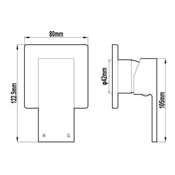 HARMTAP10115 81110 Harmony Mixers Tapware Spec sheet