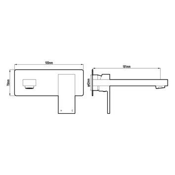 HARMTAP10125 81106 Harmony Mixers Tapware Spec sheet