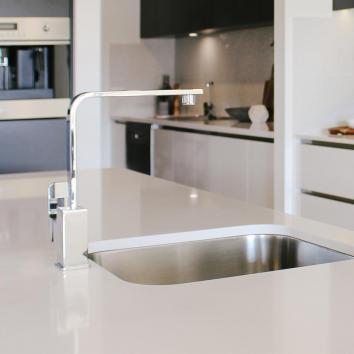 Harmony Rondo Solid Sink Mixer Chrome   A0210 HERO IMAGE