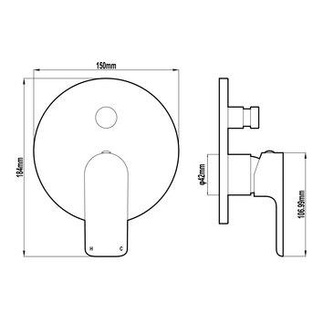 HARMTAP10725 82811 Harmony Mixers Tapware Spec sheet