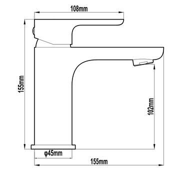 HARMTAP10755 82805-B Harmony Mixers Tapware Spec sheet