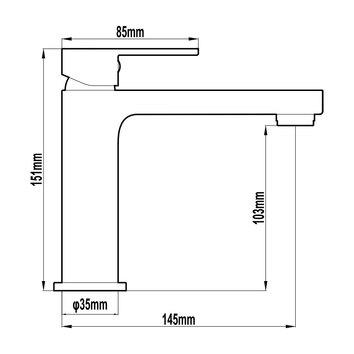 HARMTAP10835 69005-W Harmony Mixers Tapware Spec sheet