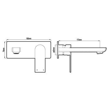 HARMTAP10845 69012-W Harmony Mixers Tapware Spec sheet