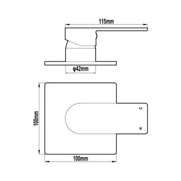 HARMTAP10885 69010-B Harmony Mixers Tapware Spec sheet