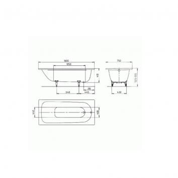 KALDEWEI1440 01 – 372 – 1 Kaldewei  Baths Spec sheet