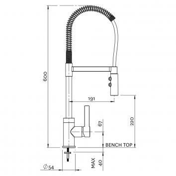 METHVEN5210 02-9402 Methven Mixers Tapware Spec sheet