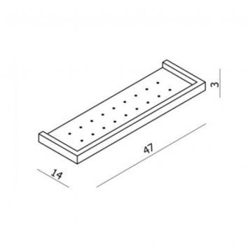 NEKO100835 NA100835 Neko Shower Shelves Accessories Spec sheet