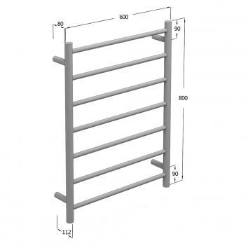 NEKO102020 NA102020 Neko Heated Towel Rail Accessories Spec sheet