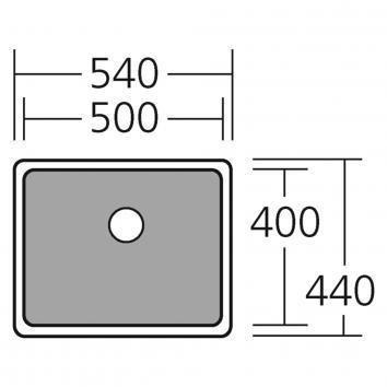 OLIVERI2365 CS01SS Oliveri Single Bowl Sinks Spec sheet