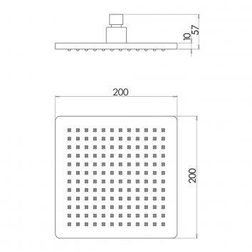 PHOENIX33080 RA528 CHR Phoenix Tapware  Showers Spec sheet