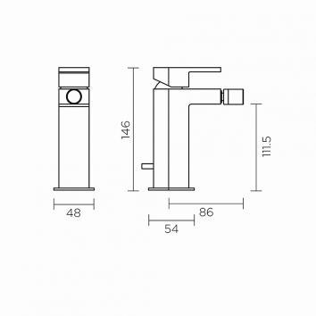 ROGERSEL13651 329412 Fantini Mixers Tapware Spec sheet
