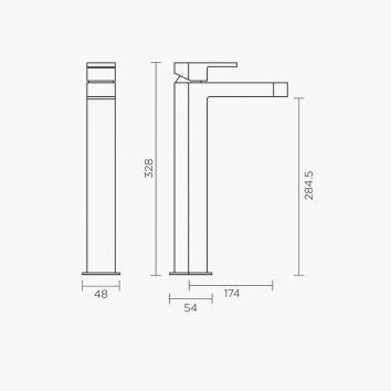 ROGERSEL13656 329418 Fantini Mixers Tapware Spec sheet