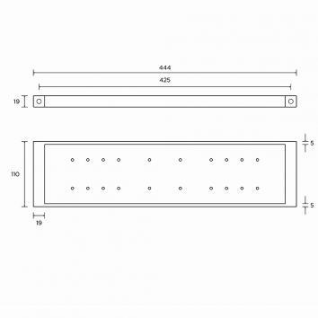 ROGERSEL13940 403160 Rogerseller Shower Shelves Accessories Spec sheet