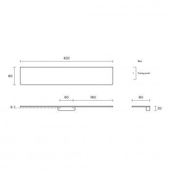 ROGERSEL15066 4355181 Rogerseller Wall Shelves Accessories Spec sheet