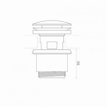 ROGERSEL16100 233515 Rogerseller Plug & Waste Plugs & Wastes Spec sheet