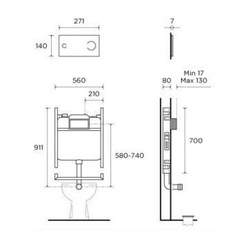 ROGERSEL39356 230324 Viega Cisterns / Inwall Toilets Spec sheet