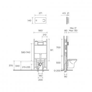 ROGERSEL39405 230418 Viega Cisterns / Inwall Toilets Spec sheet