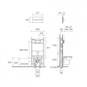 ROGERSEL39415 230422 Viega Cisterns / Inwall Toilets Spec sheet