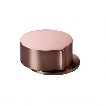 Rogerseller Eccentric Hob Mounted Progressive Mixer Rose Copper