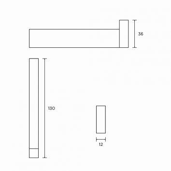 ROGERSEL51120 428158 Cosmic Toilet Paper Holder Accessories Spec sheet